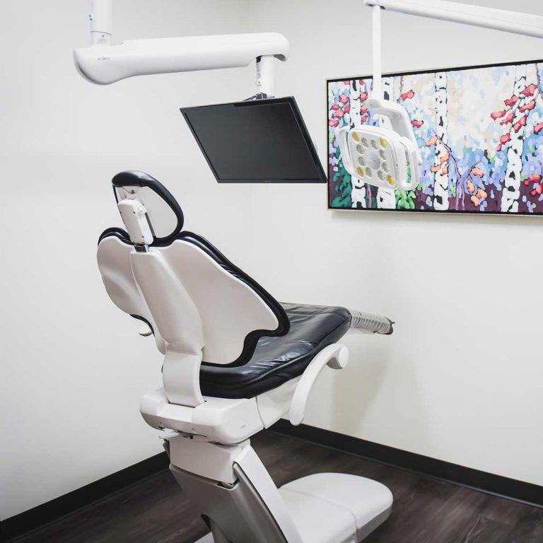 Our dental clinic chair